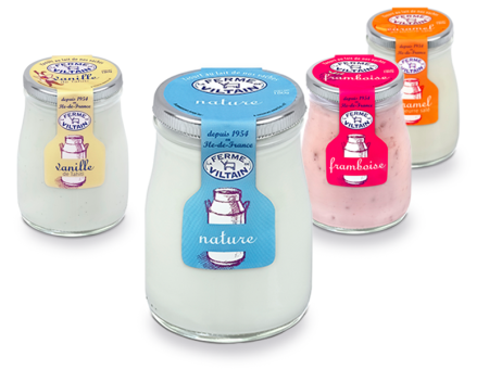 Nouvelle image des packagings de Viltain